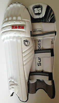 SS Ton Test Lite Pro Cricket Batting Pads: Lightweight with Embossed S: Quality