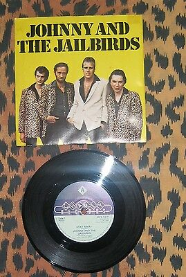 """Johnny And The Jailbirds 7"""" Stay Away/ Jennie Lee"""