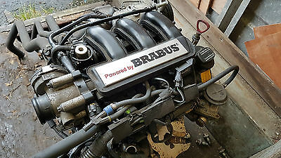 Smart Roadster Brabus engine, manifold, wiring, injectors and Brabus clutch