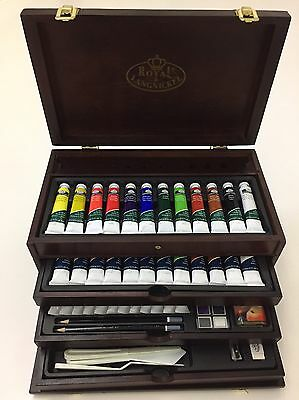 Royal Langnickel Premier Painting Chest - 80 Piece Mixed Art Set - NEW