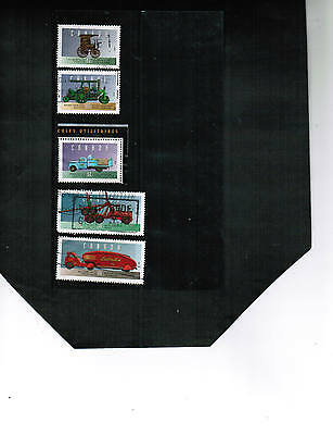 CANADA 1996  VEHICLES SINGLES** (5 of 6)  set # 4  #1604  USED cat $10.00  BK GR