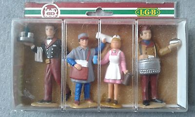 LGB G Scale Station Workers #5145 ~ TS