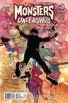 Monsters Unleashed #3 (Of 5) (2017) 1St Printing Bagged & Boarded Marvel Now