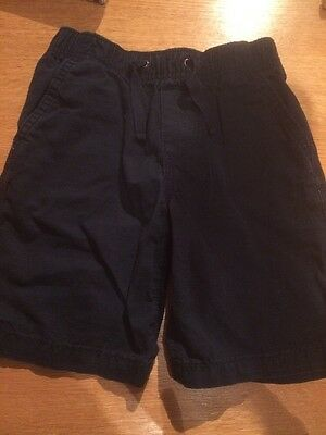 Boys Baby Gap Navy Shorts Age 5 Years