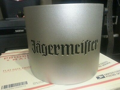 Jagermeister Metal Ice Bucket with Removeable Plastic Liner