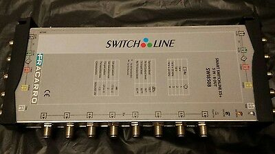 fracarro smart switchline xs+ 5 in 8 out swi8508