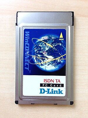 D-Link WinConnect ISDN TA PC Card DTA-128 plus