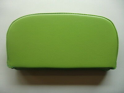 Plain Lime Green Scooter Back Rest Cover (Purse Style)