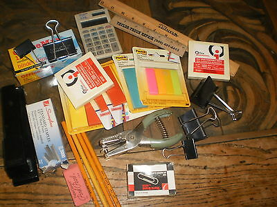 Interesting lot of office/desk supplies