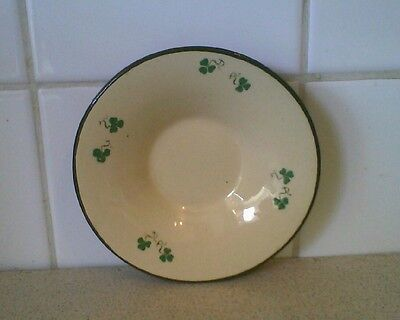 carrigaline pottery made in the irish free state small plate 13 cm across