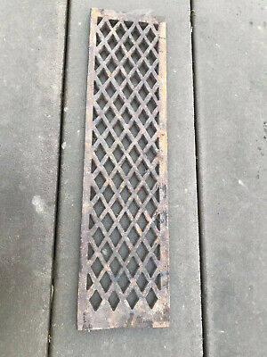 Old Cast Iron Metal Grills / Grates / Vents
