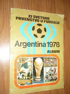 Fifa World Cup Argentina 1978 Complete Stickers Album Not Panini