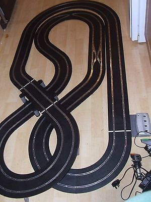 Huge Scalextric Digital Layout - Tested And Working With 4 Car Powerbase