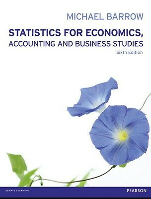 statistics for economics, accounting and business studies, 6th edition