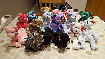 ty beanie babies collection with tags