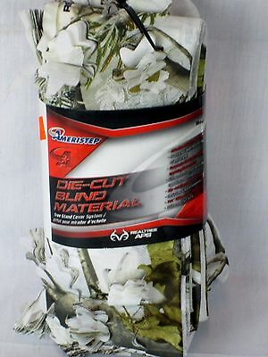 ameristep Snow camo one-cut Blind Material realtree APS