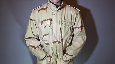 M-65 ARMY NAVY USAF DCU Desert Military Field Jacket Coat Cold Weather US Made