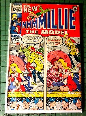 The New Millie the model #172 Marvel Comics Silver Age Comic CB932