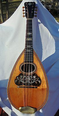 Vintage 1895 PLAYABLE Washburn MANDOLIN really great condition BEAUTIFUL TONE  !