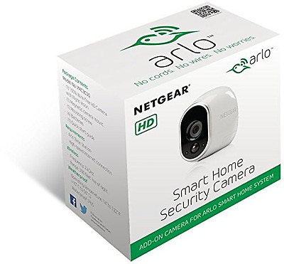 NETGEAR HD Home Security Camera with Night Vision, Motion Alerts & Weatherproof