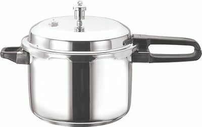 VINOD Stainless Steel Induction Pressure Cooker 10L (Outside Fitting Lid)