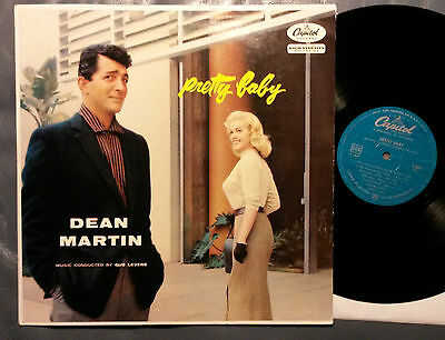 Rat Pack LP DEAN MARTIN Pretty Baby CAPITOL (Germany, 1957) promo