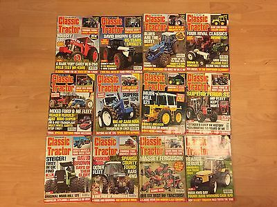 Classic Tractor magazine All 2008 January - December 12 Issues