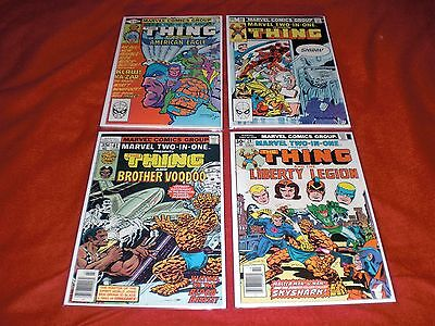 Marvel Two-In-One  Lot Of 4  Bronze Age  Marvel Comics