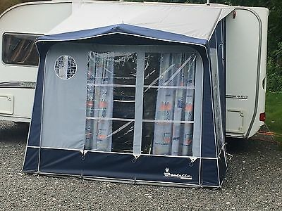 Isabella Minor Porch Caravan Awning with Carbon Poles
