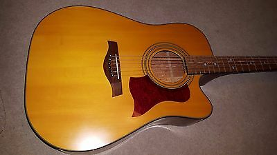 Tanglewood Sundance TW12CE-F Electro-Acoustic Guitar with cutaway & pro setup