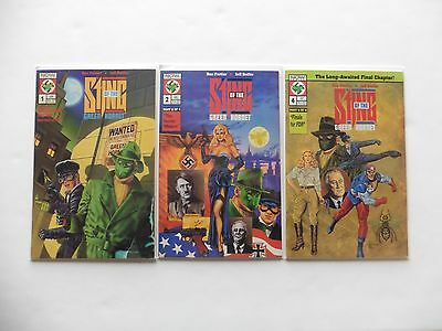 Sting Of The Green Hornet Issues 1, 2, 4 Now Comics