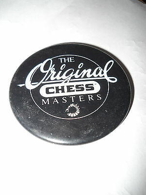The Original Chess Masters Badge (Pin On) In Excellent Condition