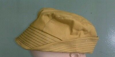Vintage NOS 1950s Canvass Filson style hunting cap sz. 7 1/4