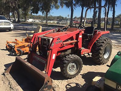 1998 Massey Ferguson 1240 4x4 Compact Tractor w/ Loader.  Coming in Soon!