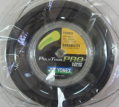 Yonex Tennis String Poly Tour Pro 125, PTP 125-2, 1.25 mm, 200m Coil, Japan Made