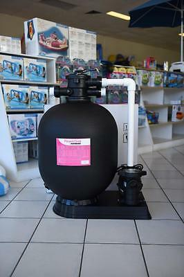 """NEW Hayward 100kg 24"""" Sand Filter With 1hp swimming pool Pump (2017 Stock)"""