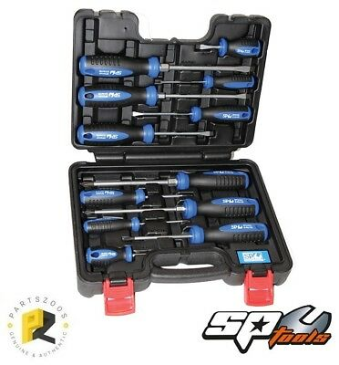 SP Tools 12pc Screwdriver Set in Case New SP34012