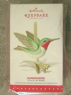 "Mint 2015 Hallmark ""Hummingbird"" KOC Event Repainted Ornament; Limited Quantity"