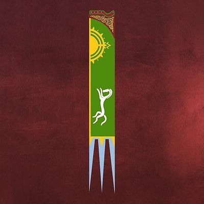 Flag of Eomer Lord of The Rings Official Licensed Collector Item Limited Edition