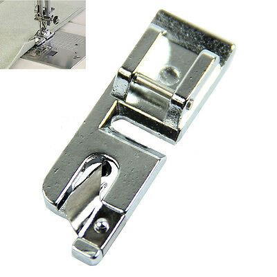 New 1Pcs Rolled Hem Foot For Brother Janome Singer Silver Bernet Sewing Machine