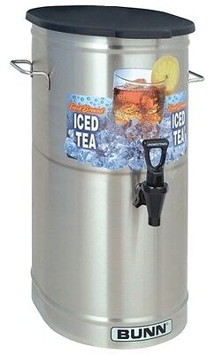 Bunn Ice Tea Dispenser TDO-4 - 4 Gallon - Brew Through Lid
