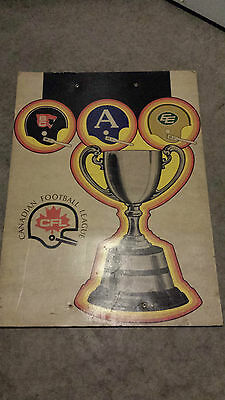 CFL Grey Cup Poster Panel