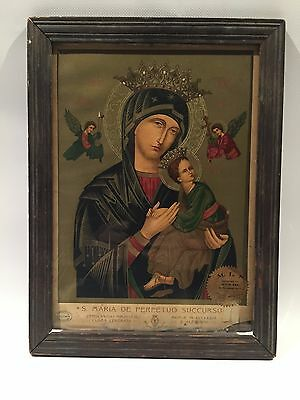 """Vintage """"Our Mother of Perpetual Help""""  Early 1900's, Lot N0210272"""