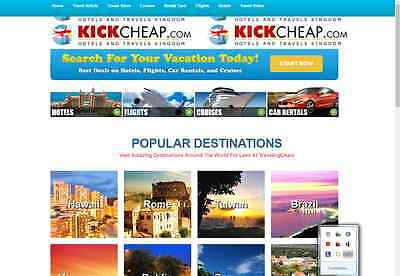 Best All in One Travel Website For Sale + Free Installation + Hosting