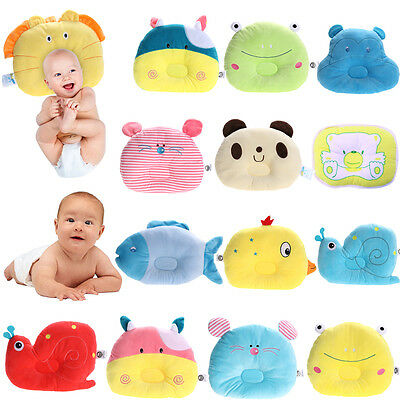 Lovely Pillow Newborn Infant Kid Pad Prevent Flat Head Positioner Soft