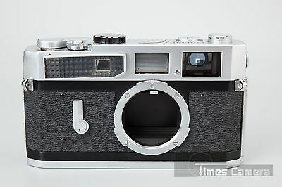 Canon Model 7 35mm Rangefinder Film Camera, Chrome - Made in Japan
