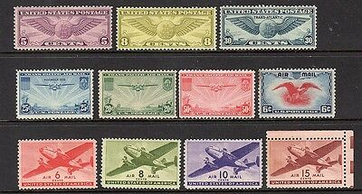United States - 1931-1946 - mnh airmail stamps