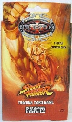 Epic Battles Street Fighter  Starter Deck
