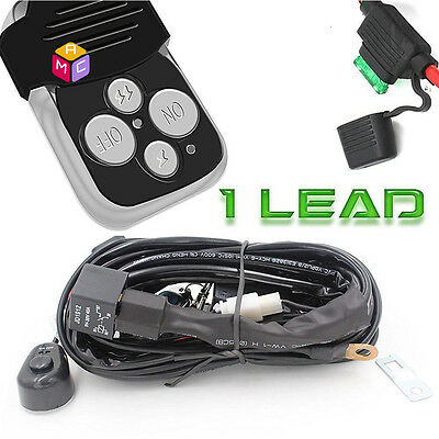 v a wiring kit wireless remote control switch driving fog work 40a 12v wiring harness kit strobe remote control switch for led light bar 1 lead
