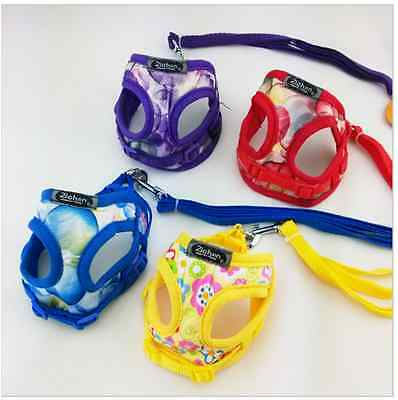Pet Puppy Chihuahua Control Harness for Dog/Cat Mesh Walk Collar Comfort  straps